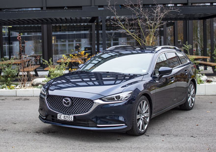 UNTERWEGS: Mazda 6 SW S-D 184 AT Revolution
