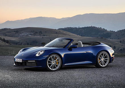 Start in die Open-Air-Saison: Porsche bringt das 911 Cabrio